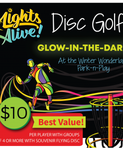 Glow in the Dark Disc Golf