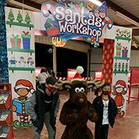 Santas Workshop at Lights Alive
